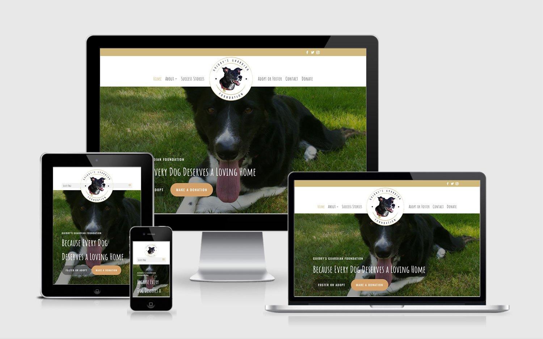 guidry's guardian responsive web design